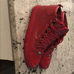 Balencia high top sneaker